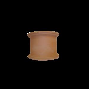 image pot cylindrique terre cuite